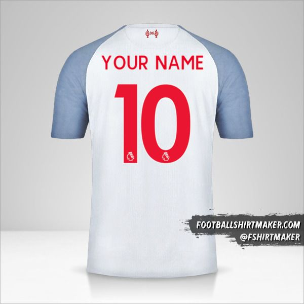 Liverpool FC 2018/19 III shirt number 10 your name