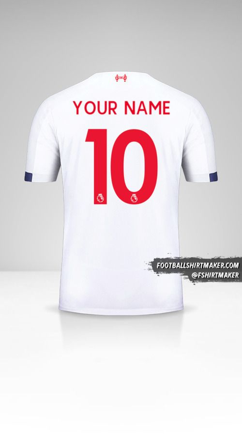 Liverpool FC 2019/20 II shirt number 10 your name