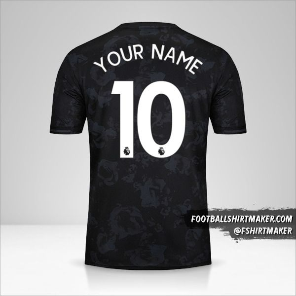 Manchester United shirt 2019/20 III number 10 your name