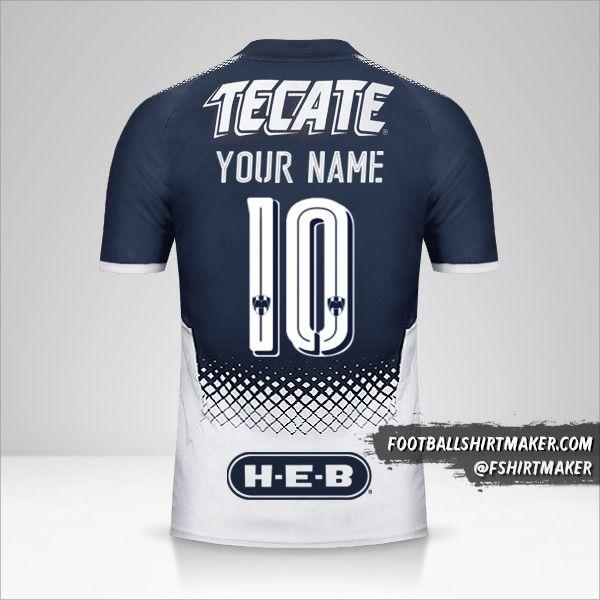 Monterrey 2017/18 shirt number 10 your name