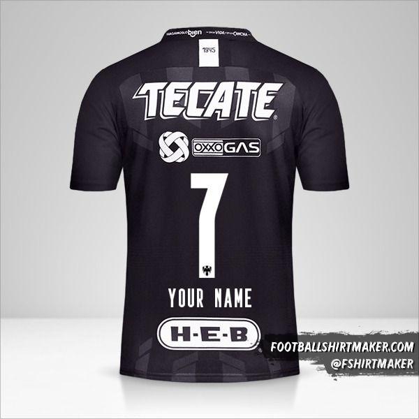 Monterrey 2019/20 III shirt number 7 your name