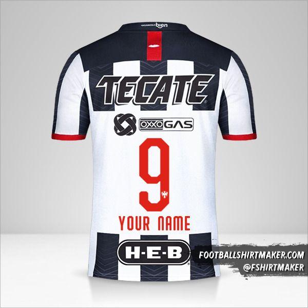 Monterrey 2019/20 shirt number 9 your name