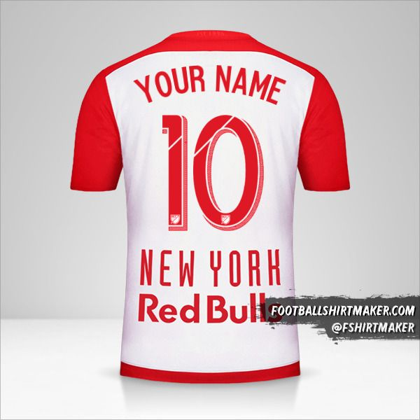 New York Red Bulls 2015/16 shirt number 10 your name