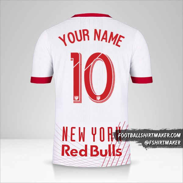 New York Red Bulls 2017/18 shirt number 10 your name
