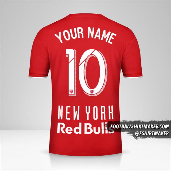 New York Red Bulls 2019 shirt number 10 your name