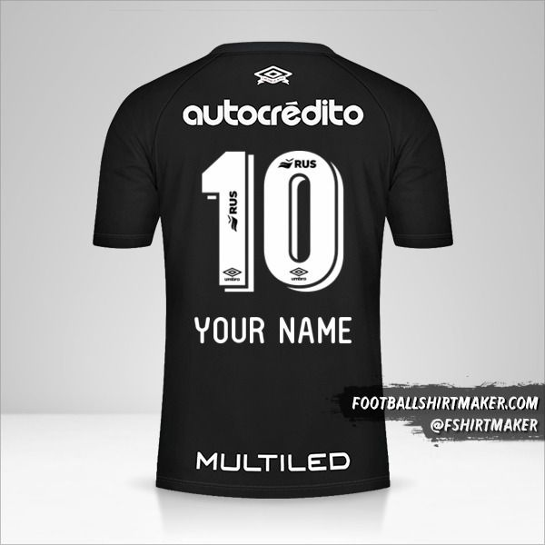 Newells Old Boys 2020/21 shirt number 10 your name