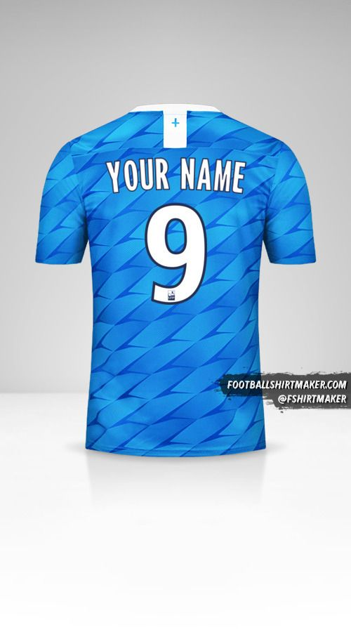 Olympique de Marseille 2019/20 II shirt number 9 your name