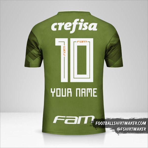 Palmeiras 2018 III shirt number 10 your name