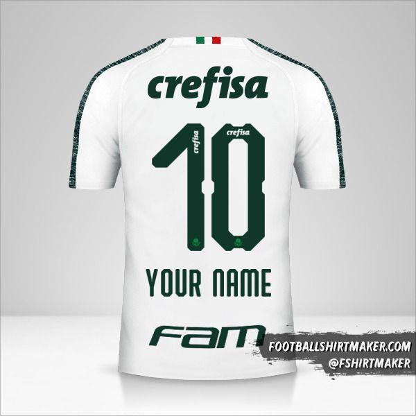 Palmeiras 2019 II shirt number 10 your name
