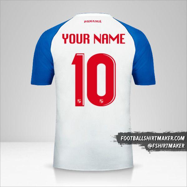 Panama 2018 II shirt number 10 your name