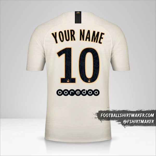 Paris Saint Germain 2018/19 II shirt number 10 your name