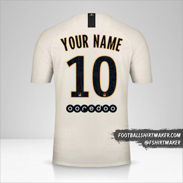 Paris Saint Germain 2018/19 II shirt number 10 your name