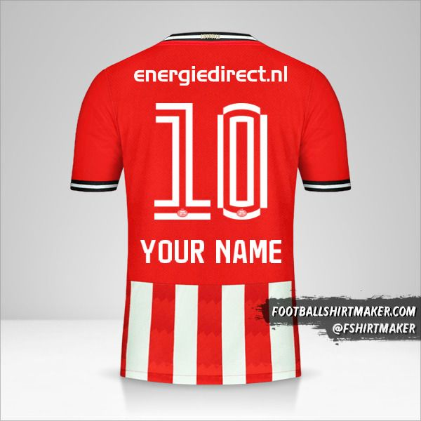 PSV 2020/21 shirt number 10 your name