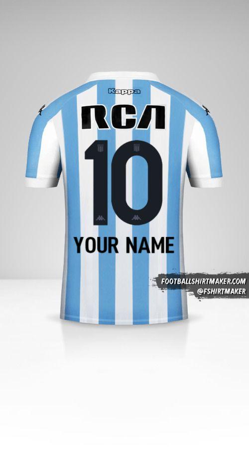 Racing Club 2018 shirt number 10 your name