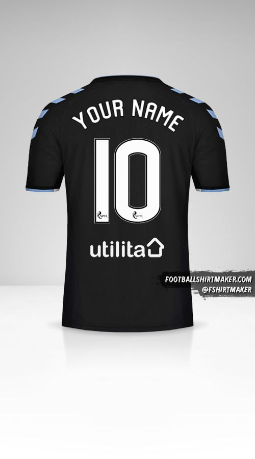 Rangers FC 2019/20 II shirt number 10 your name