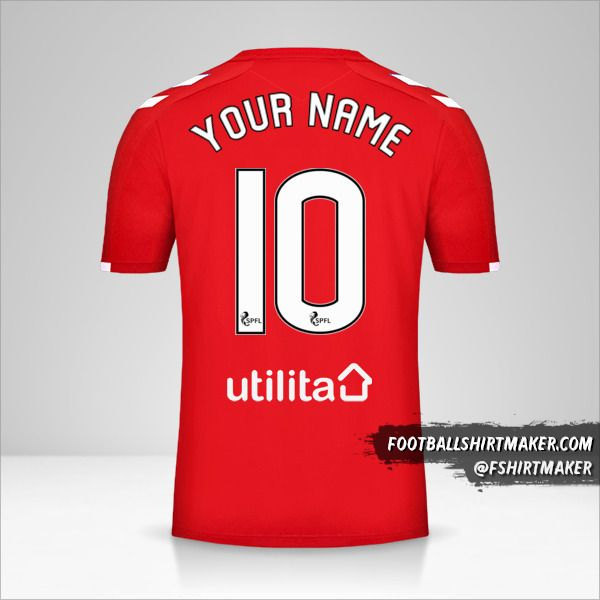 Rangers FC 2019/20 III shirt number 10 your name