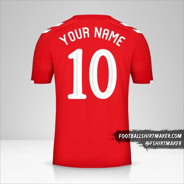Rangers FC 2019/20 Cup III shirt number 10 your name