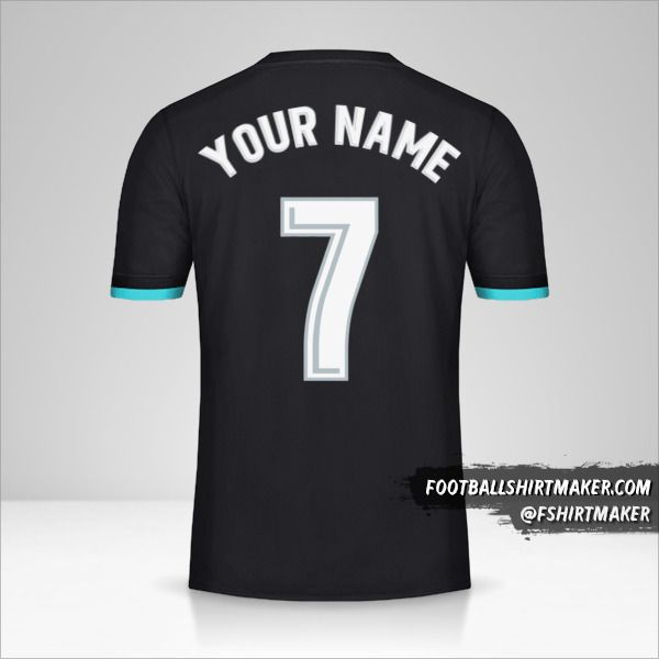 Real Madrid CF 2017/18 II shirt number 7 your name
