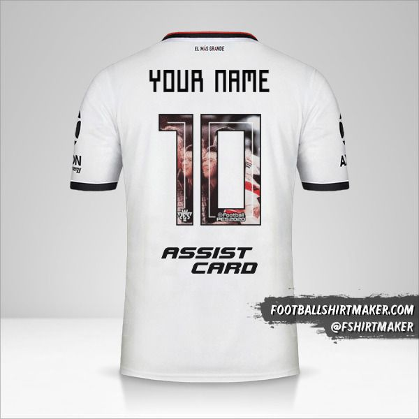 River Plate 2019/20 III shirt number 10 your name