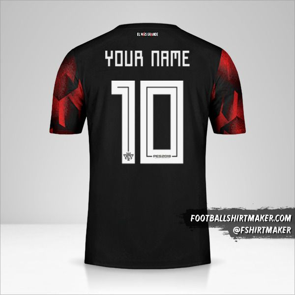 River Plate 2019 III Copas shirt number 10 your name