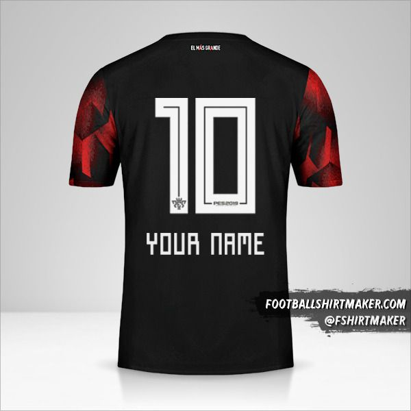 River Plate 2019 III shirt number 10 your name