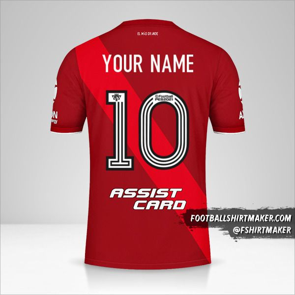 River Plate 2020/21 II shirt number 10 your name