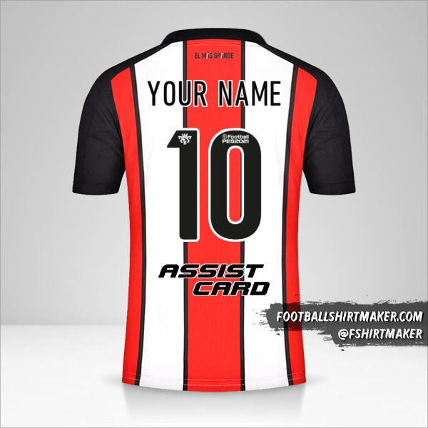 River Plate 2021/2022 III shirt number 10 your name