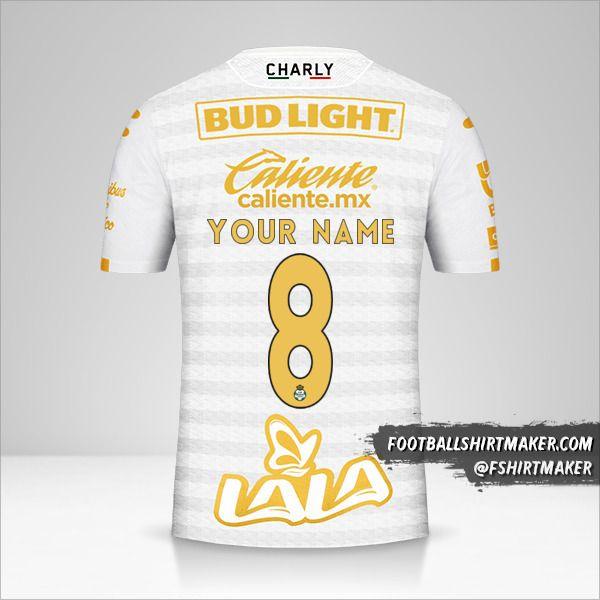Santos Laguna 2019/20 III shirt number 8 your name