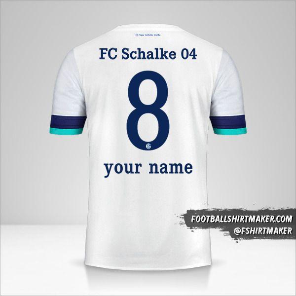 Schalke 04 2019/20 II shirt number 8 your name