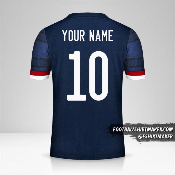 Scotland 2020/2021 shirt number 10 your name