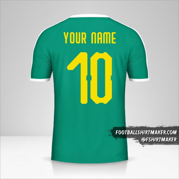Senegal 2018 II shirt number 10 your name