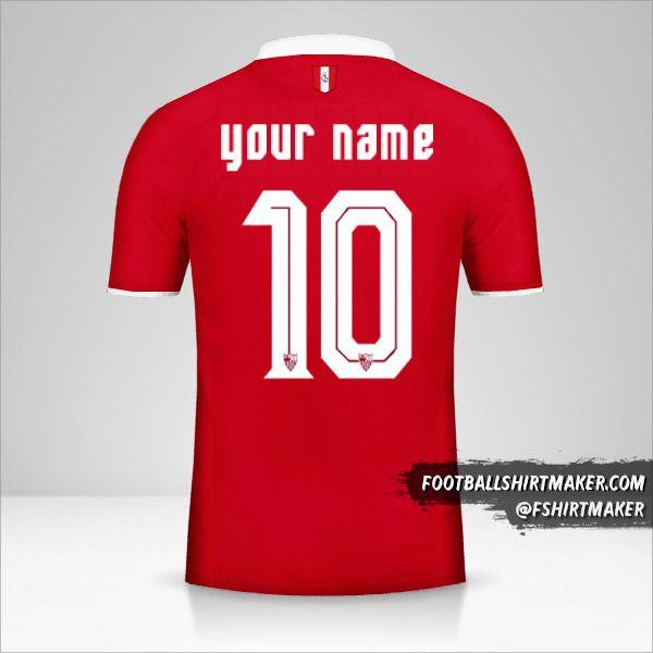 Sevilla FC 2016/17 II shirt number 10 your name