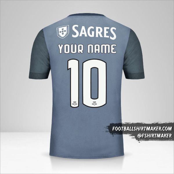 SL Benfica 2017/18 II shirt number 10 your name