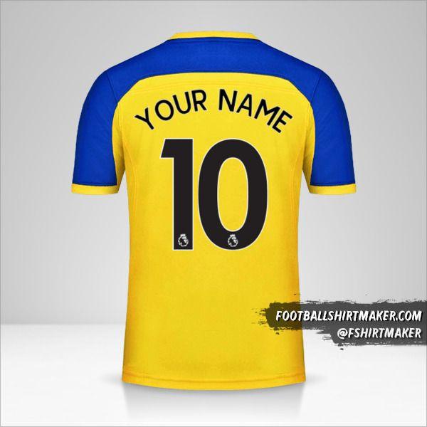 Southampton FC 2018/19 II shirt number 10 your name