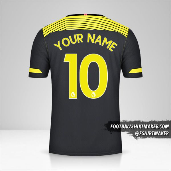Southampton FC 2019/20 II shirt number 10 your name