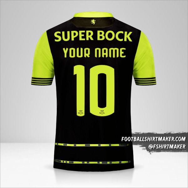Sporting Clube 2017/18 II shirt number 10 your name