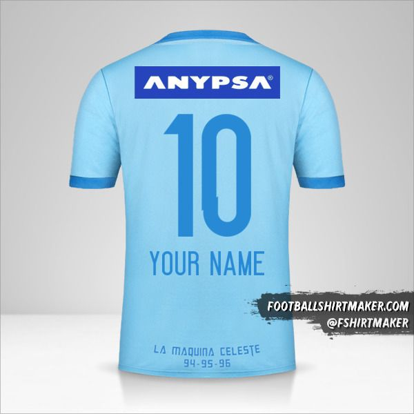 Sporting Cristal 2017 shirt number 10 your name