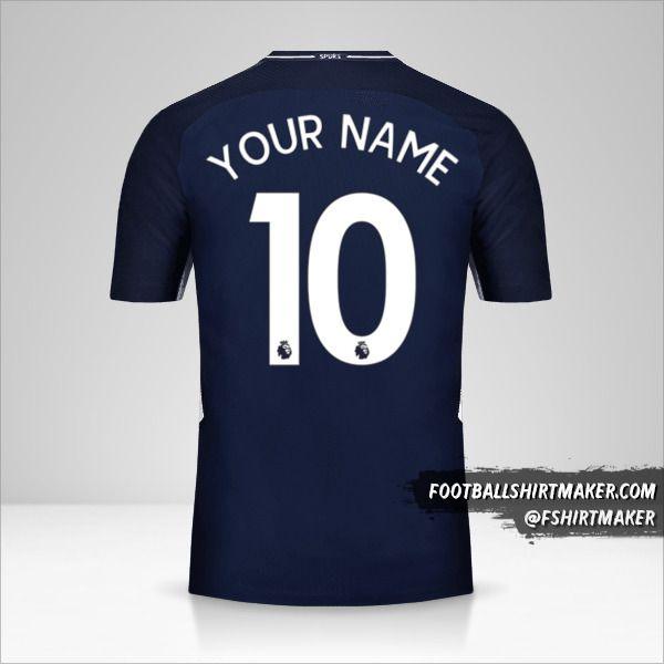 Tottenham Hotspur 2017/18 II shirt number 10 your name