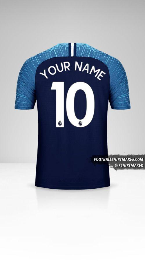 Tottenham Hotspur 2018/19 II shirt number 10 your name