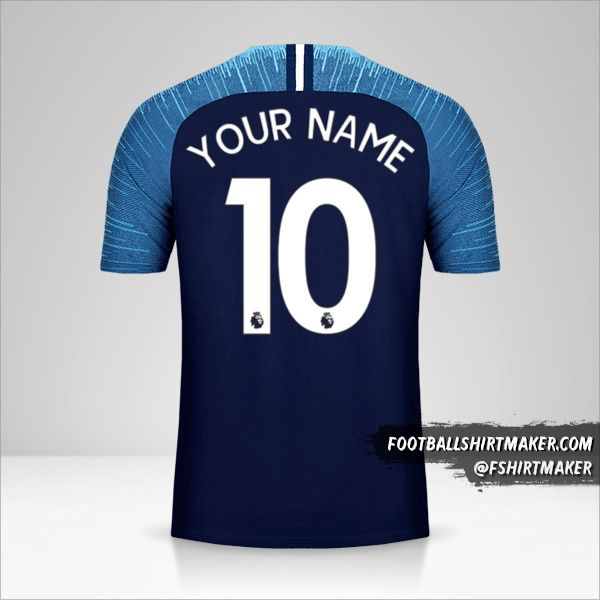 Tottenham Hotspur 2018/19 II shirt number 10 your name