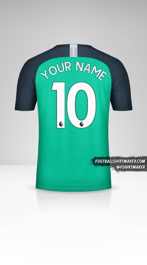 Tottenham Hotspur 2018/19 III shirt number 10 your name