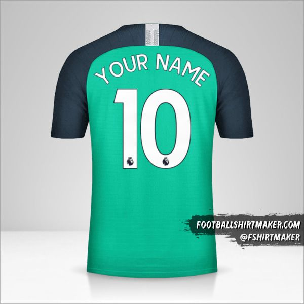 Tottenham Hotspur 2018/19 III shirt number 10 your name