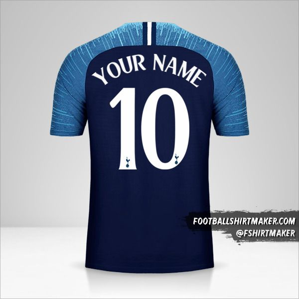 Tottenham Hotspur 2018/19 Cup II shirt number 10 your name