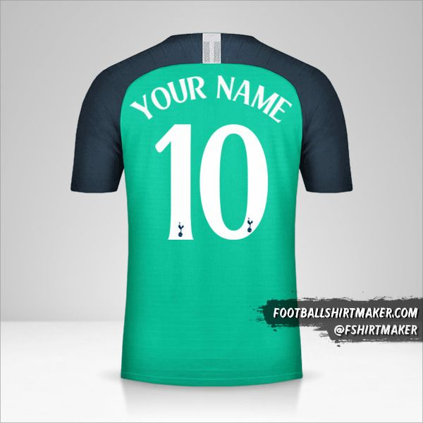 Tottenham Hotspur 2018/19 Cup III shirt number 10 your name
