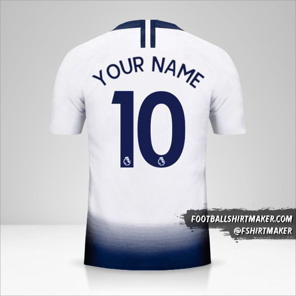 Tottenham Hotspur 2018/19 shirt number 10 your name