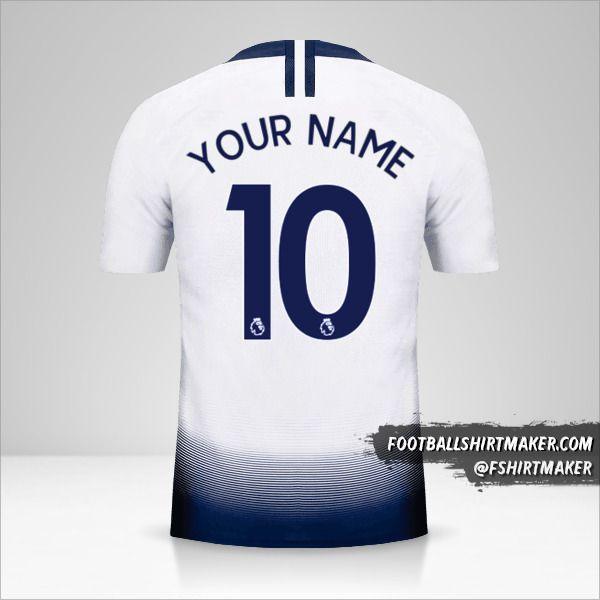 Tottenham Hotspur 2018/19 shirt number 10 your name
