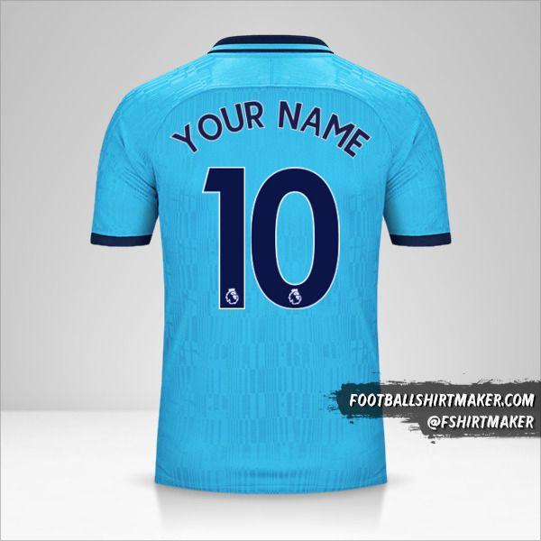 Tottenham Hotspur 2019/20 III shirt number 10 your name