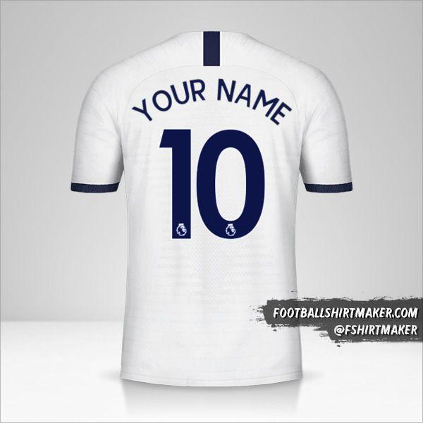 Tottenham Hotspur 2019/20 shirt number 10 your name