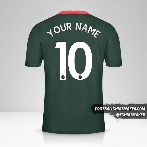 Tottenham Hotspur 2020/21 II shirt number 10 your name