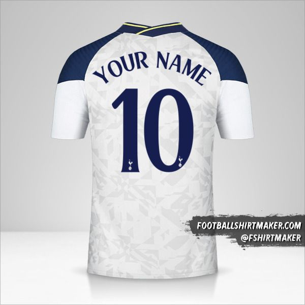 Tottenham Hotspur 2020/21 Cup shirt number 10 your name